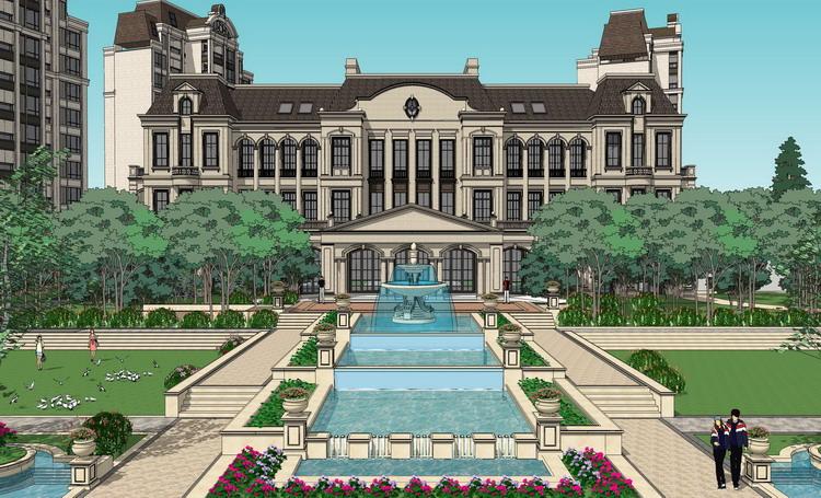 许昌德正置业366亩地块景观方案概念设计图片
