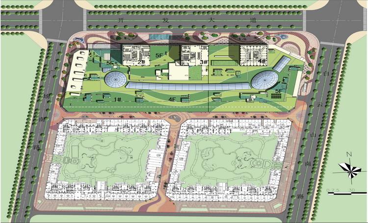 台州经开万达广场景观方案设计